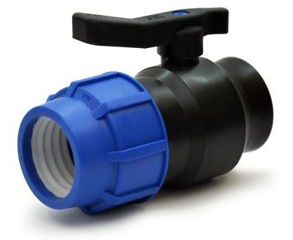 Guľový zatvárací ventil - mosadzná gulička - 25 x 3/4 VNZ