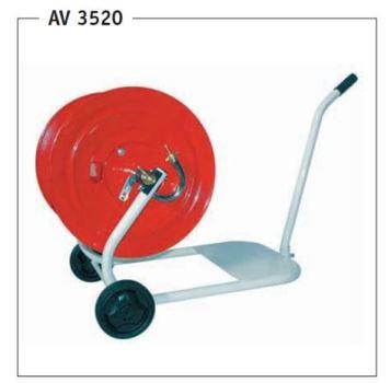 """Vozík na hadicu - kovový GREENTECH AV 3520 - pre max. 82 m 1/2"""" hadice"""