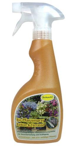 Prípravok -revitalizér  pre balkónové rastliny a rastliny na terasách - SCHACHT - 500 ml