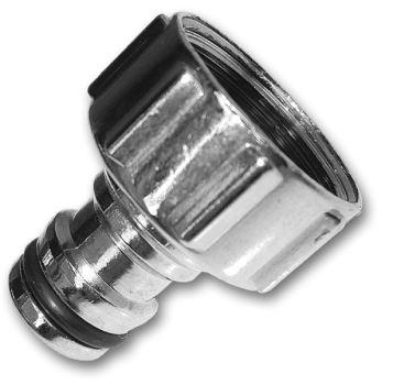 """Konektor / adaptér na kohútik - zinok/chróm - 1 """""""