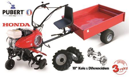 """Kultivátor - Quatro Junior 60H + kolesá 10"""" + df + vozík IT 500 - V-GARDEN"""
