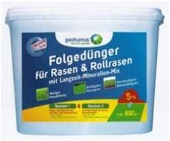 Hnojivo granulov. - GEOHUMUS - FOLGEdünger - multifunkčné hnojivo - 5 kg