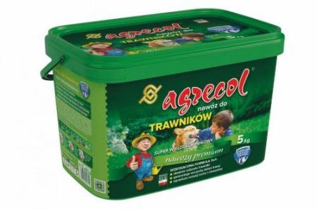 Granulované hnojivo 5 kg-trávnik- AGRECOL