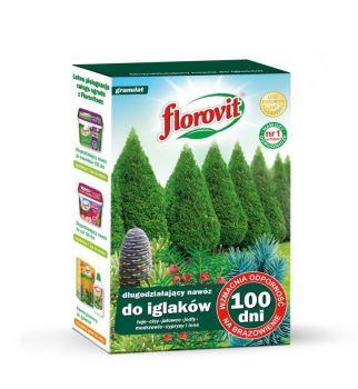Hnojivo granulov. - FLOROVIT - ihličnany - 100 dní - 1,0 kg box