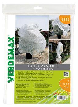 Ochranná textília - návlek na rastliny - 17g/m2, biela, 1,5 x 3,6 m - balenie 2 ks