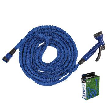 Postrekovacia súprava TRICK HOSE 5m - 15m modrá BOX