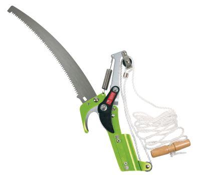 Pílka záhradnícka - s nožnicami - VERDEMAX -  pre teleskopickú rúčku 4372 alebo 437