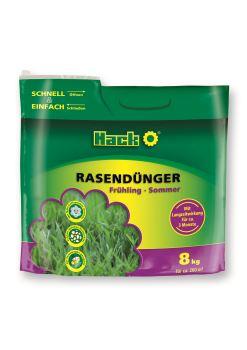 Hnojivo granulov. - HACK - 3M Sommer - trávnik - 8 kg