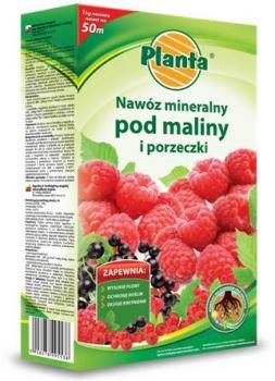 Hnojivo granulov. - PLANTA - maliny a ríbezle - 1,0 kg + 100 g ZDARMA