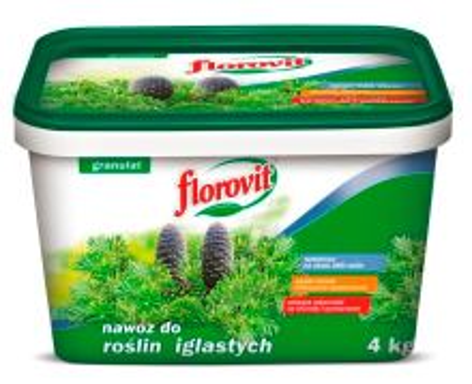 Florovit 100 dní konifery 4,0 kg vedro
