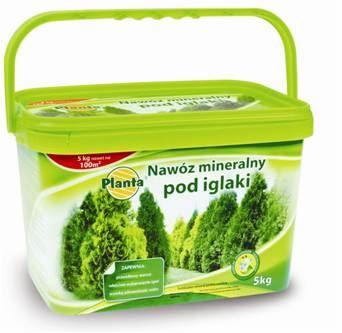 Hnojivo granulov. - PLANTA - ihličnany - 5,0 kg vedro