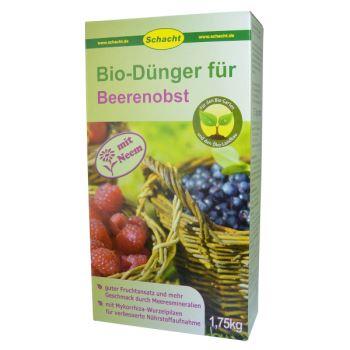 Hnojivo - prírodné - DROBNÉ OVOCIE - SCHACHT - Bio-Dunger - 1,75kg