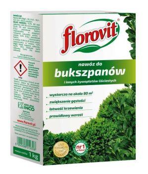 Hnojivo - FLOROVIT Buxus a živé ploty - 1,0 kg box