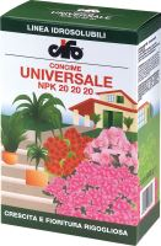 Hnojivo kryštalické - CIFO Granverde PS UNIVERSALE 20-20-20+ME - 600 g
