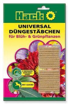 Hnojivo výživové tyčinky - HACK - univerzálne - dlhodobé 3M - 1 balenie 20 ks