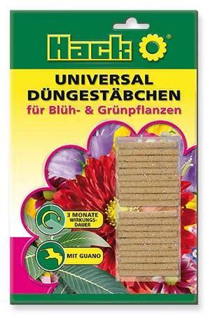 Hnojivo - HACK Universal 3M - výživové tyčinky - 1 balenie 20 ks