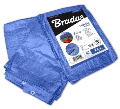 Plachta zakrývacia - BLUE, 60g/m2 - 2 x 3 m- BRADAS