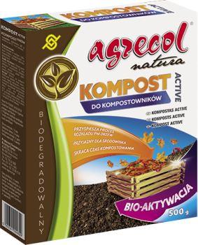 Urýchľovač a aktivátor kompostu - AGRECOL - Kompost Active - 500 g pre 4,5 - 6 m3
