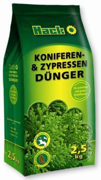 Hnojivo granulov. - HACK - ihličnany a cyprušteky - 2,5 kg uzatvárateľný sáčok