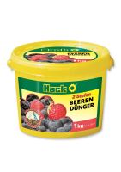 Hnojivo - HACK Drobné ovocie 5M - 1 kg vedro