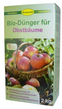 Hnojivo - prírodné - OVOCNÉ STROMY - SCHACHT  - 2,0 kg