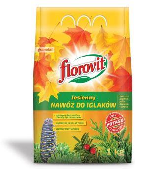 Hnojivo - FLOROVIT Jesenné pre ihličnany - 3,0 kg