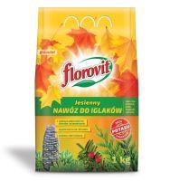 Hnojivo granulov. - FLOROVIT - ihličnany - jesenné - 3,0 kg vrecko