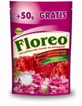 Hnojivo kryštalické - PLANTA - Floreo - pelargónie - 250 g + 50 g ZDARMA