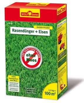 Hnojivo granulov. - WOLF - L-PM 100 Hnojivo s obsahom železa