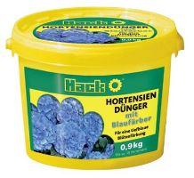 Hnojivo granulov. - HACK - hortenzie - pre modrú farbu kvetov - 0,9 kg vedro