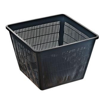 Košík pre vodné rastliny - štvorcový - D23 x Š23 x V13 cm