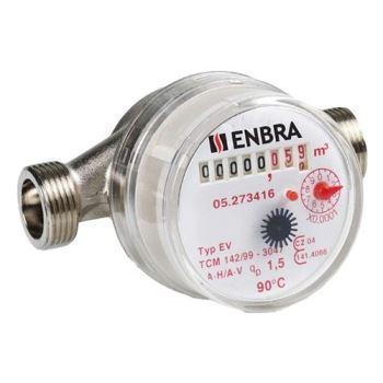 Vodomer ENBRA ET DN15/SV 30 st.C
