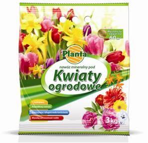 Hnojivo granulov. - PLANTA - záhradné kvetiny - 3,0 kg