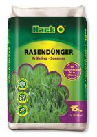 Hnojivo granulov. - HACK - 3M Sommer - trávnik - 15 kg