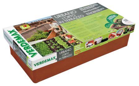 Nádoba na pestovanie - VERDEMAX - Orto Urbano - terracota; zelenina a kvetiny