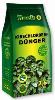 Hnojivo granulov. - HACK - vavrínovce a vždyzelené rastliny - 2,5 kg uzatvárateľné vrecko