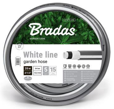 """Hadica záhradná - WHITE LINE - 1/2"""" - 20 m- BRADAS"""