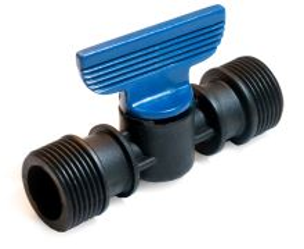 """Guľový zatvárací ventil motýlik - PA - 3/4"""" VOZ mm x 3/4"""" VOZ"""