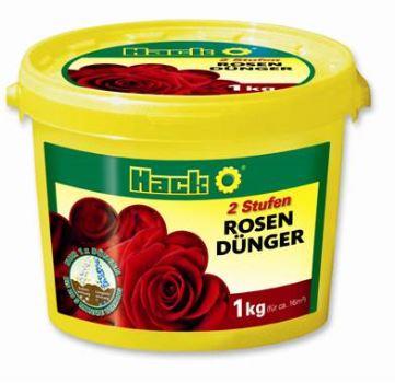Hnojivo granulov. - HACK - ruže - dlhodobé 5M - 1 kg vedro