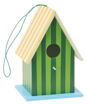 Domček / búdka - pre vtáky - farebná