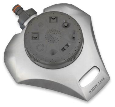 Zavlažovač - WHITE LINE - 8-funkčný s kovovým telom- BRADAS