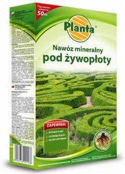 Hnojivo granulov. - PLANTA - živé ploty - 1,0 kg