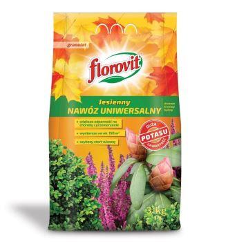 Hnojivo - FLOROVIT Jesenné univerzálne  - 3,0 kg