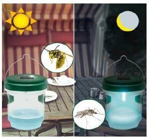 Hubič - odchytová solárna pasca na hmyz - GARDIGO - Solar Insect Trap