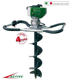 Pôdny vrták - benzínový - profi - motorová jednotka - ACTIVE TDU 155-V-GARDEN