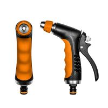 Pištoľ zavlažovacia - BRADAS - kovové telo s ergonomickou rukoväťou