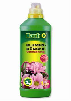 Hnojivo tekuté - HACK - kvetiny / Blumen Dunger - 1 l