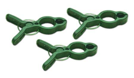 Klipsy fixačné - pre prichytenie rastlín - rozmery 8 x 5,5 cm - balenie 10 ks-BRADAS