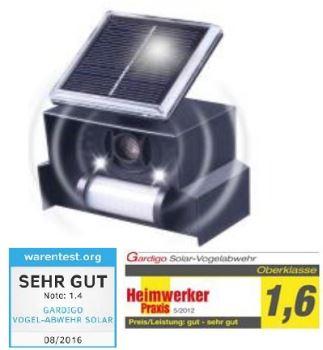 Odpudzovač vtákov - Solar Bird Repellent