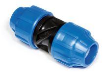 Spojka priama - PA Blu Line Plus - 40 x 40 mm